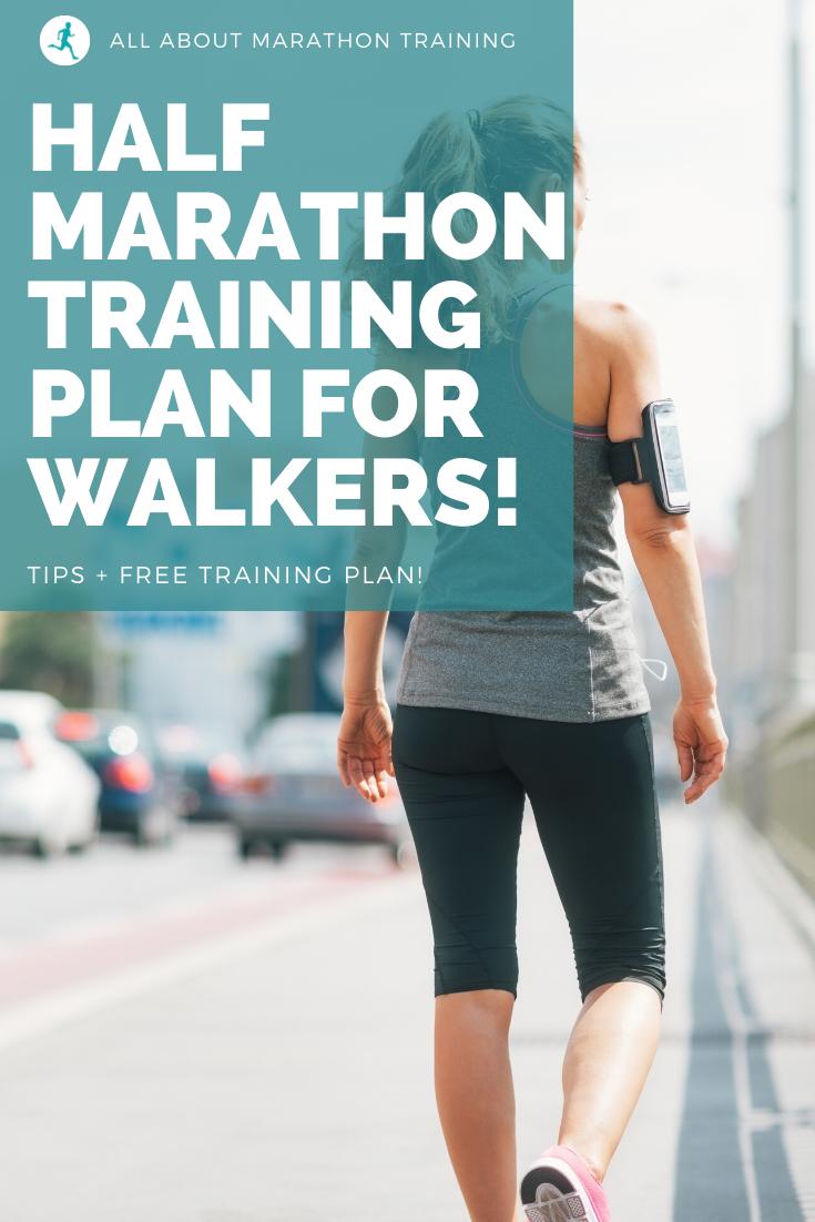 Half Marathon Training Walking Plan
