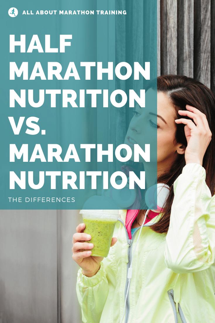 Half Marathon Vs. Full Marathon Nutrition Facts