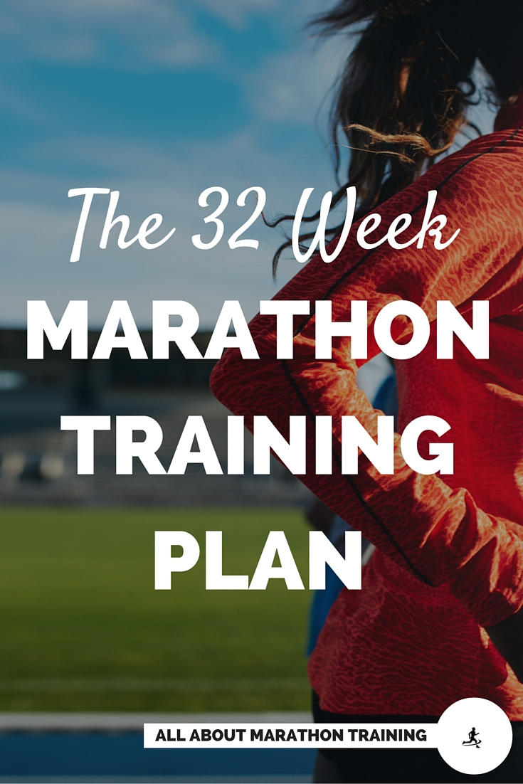 32 Week Marathon Training Schedule