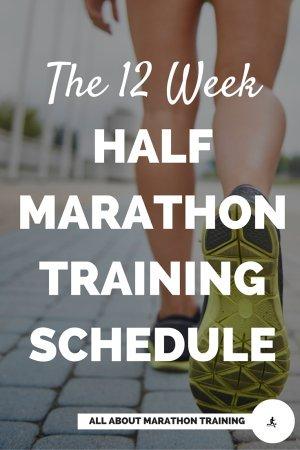 12 Week Half Marathon Training Schedule
