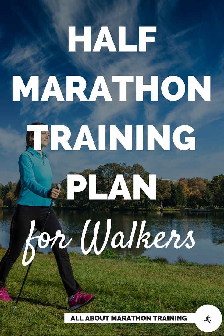 Half Marathon Training Walking Plan