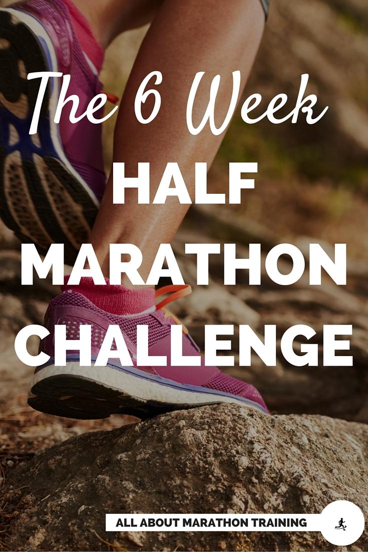 Half Marathon Training Program 6 Weeks