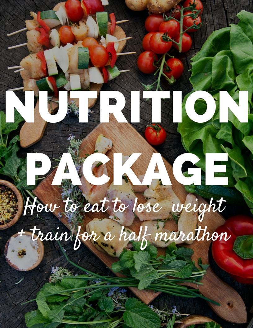 the half marathon weight loss challenge