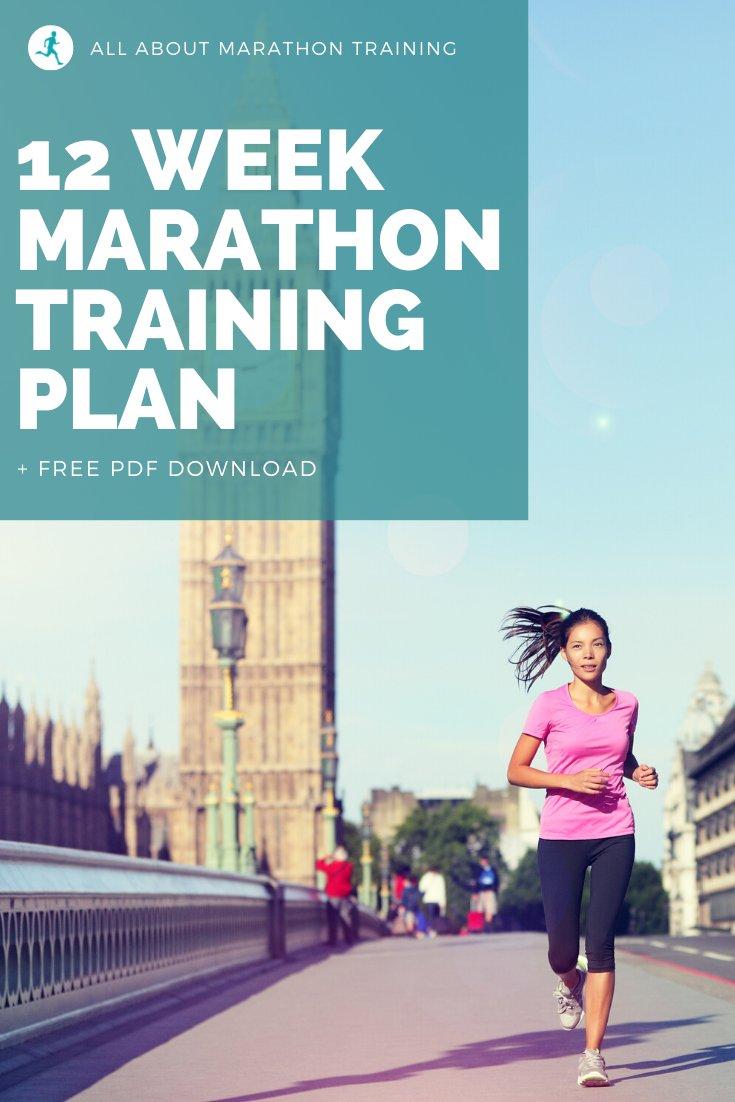 12 Week Marathon Training Schedule