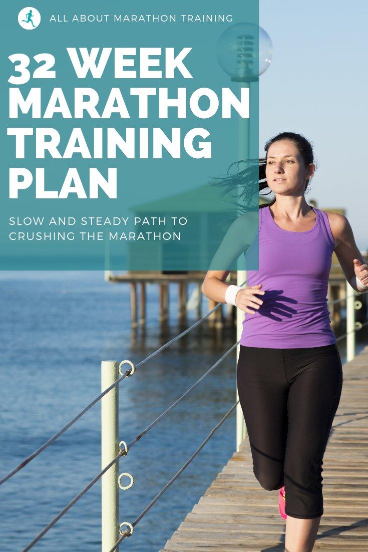 32 Week Marathon Training Schedule