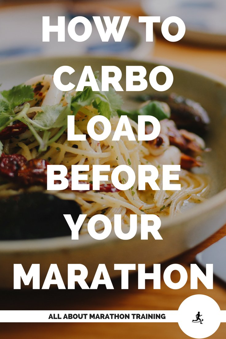 How to carbo load