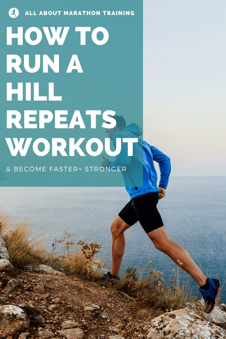 Hill repeats running workout